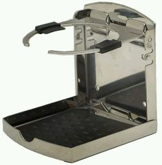 Fish-on Tournament Series Stainless Steel Folding Drink Holder #FishOn