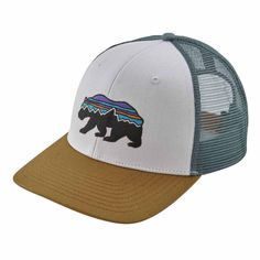 Fitz Roy Bear Trucker Hat ab9327aeaac2