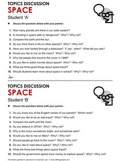 Space and Space Travel, English, Learning English, Vocabulary, ESL, English Phrases, http://www.allthingstopics.com/space-and-space-travel.html