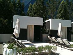 aria pool cabana - Google Search