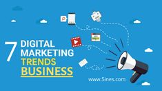 The new year is here, and digital marketing is more advanced and innovative than ever before, businesses have to keep up. Here are Seven Trends You Must Know For a Successful Digital Marketing Campaign. Digital Marketing Trends, Digital Marketing Strategy, Marketing Strategies, Content Marketing, Social Media Marketing, Social Media Trends, Social Media Channels, Marketing Techniques, Marketing Automation