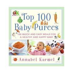 Healthy, natural baby food :)  Someday.