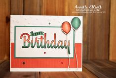 AEstamps a  Latte...: Happy Birthday Wishes for You