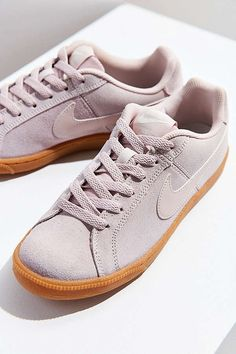 Slide View: 1: Nike Court Royale Suede Sneaker