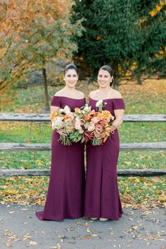Blue Hill at Stone Barns Wedding maroon bridesmaid dresses - Photography: Mademoiselle Fiona Maroon Wedding, Burgundy Wedding, Fall Wedding, Maroon Bridesmaid Dresses, Wedding Dresses, Bridesmaids, White Lace Shoes, Cake Band, Bridesmaid Getting Ready