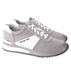 91406edb96119 Michael Kors Sneakers Grijs Allie Trainer 43R5ALFP1D. Ladies  SneakersMichael Kors SneakersNike ...