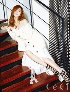 Lee Sung Kyung - Ceci Magazine February Issue '15