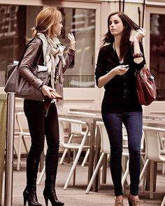 Emma Watson & Kaya Scodelario.