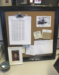 cubicle decor - office makeover. bulletin boards