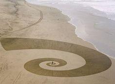 environmental art by Michael Heizer