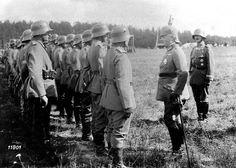 Su Alteza Imperial el Príncipe Ernst Heinrich de Sajonia visita el 6ª Regimiento de Carabineros Reales de Sajonia. Foto gentileza Sr Manuel Gimenez Puig