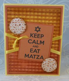 *{CraftChaos}*: Pearly Gelatos for Passover cards