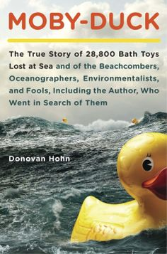 In 1992, a cargo ship container tumbled into the North Pacific, dumping 28,000 rubber ducks (nicknamed Friendly Floatees) and other bath toys that were headed from China to the U.S. Currents took them, and news reports said some may have eventually reached Maine and other shores on the Atlantic. Learn more by reading Moby-Duck by Donovan Hohn. #RubberDuckyDay