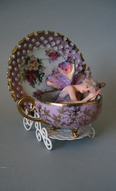Tinkerbell'S TEA Time NAP Ooak BY Nicole West | eBay