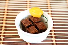 spicy fudge recipe with habanero peppers, creamy, quick and with a splash of heat.