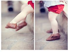 Sewing In No Mans Land: Little Leather Moccasins tutorial and free pattern