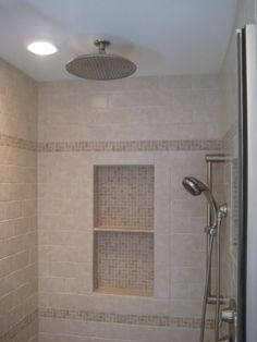 alcove in shower for Master Bath