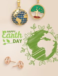 Today is the day to celebrate this beautiful blue marble we call home, Happy Earth Day! #QualityGold #EarthDay2021 #EarthPendant #TreeofLifePendant #PeaceEarrings #EarthDay #jewelry #FashionJewelry Happy Earth, Tree Of Life Pendant, Earth Day, Happy Day, Jewelry Trends, Body Jewelry, Fashion Jewelry, Beautiful, Trendy Fashion Jewelry