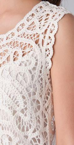 Crochet Knitting - Вязание на спицах и крючком!: Связанные крючком модели 2 - лето 2012.