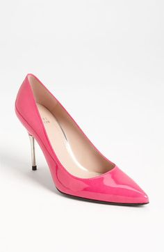 Stuart Weitzman 'Metdaisy' Pump | Nordstrom  Never can go wrong with pretty in pink
