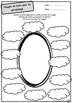 nuage description d'un personnage