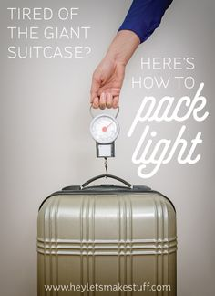 Tired of schlepping a suitcase around the globe? Here are some truly helpful tips for packing light. Once you go backpack, you never go back!