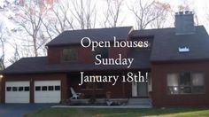 Stop by our Open Houses on Sunday, January 18th!  #Woodbridge #CT #Hamden #realestate #openhouse