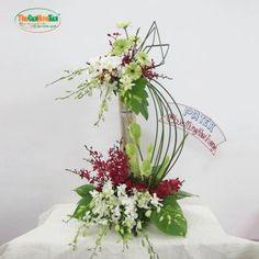 Flower Chart, Large Flower Arrangements, Arte Floral, Ikebana, Anklets, Fresh Flowers, Diy And Crafts, Floral Design, Vase