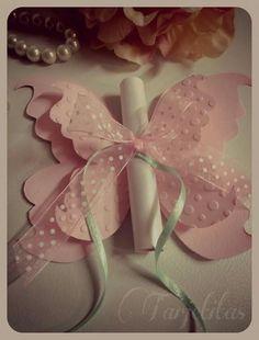 Invitación mariposa