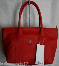Lacoste Bags Images