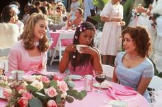 """At the wedding banquet in """"Clueless"""" #movie #film #screen_capture"""