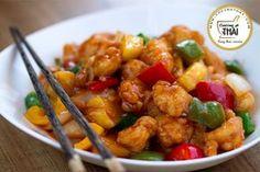 Pollo agridulce (estilo chino)   Cocino Thai