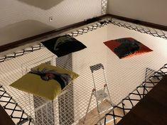 Filet d'intérieur d'habitation sur mesure avec Feelnets en France Filets, Interior Decorating, France, Decoration, Bedroom, Decor, Decorations, Decorating, Dekoration