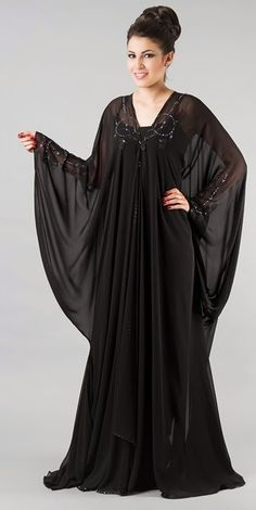 recently published new article about latest fashion trend listed on Fancy Abaya from UAE Abaya Style, Hijab Style Dress, Abaya Dubai, Abaya Designs, Islamic Fashion, Muslim Fashion, Beau Hijab, Mode Abaya, Girl Fashion