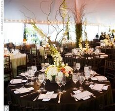 Alternative natural wedding table decorations outdoor woodland wedding