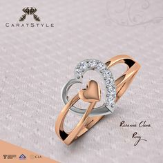 Rosanne Clone #Ring #Valentineweekend #valentinegifts #giftsforher #diamond…