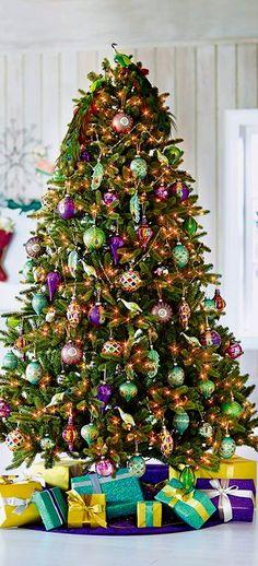 Christmas Tree ● Jewel Tones