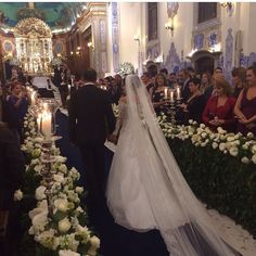 Vestido de Noiva Geraldo Couto