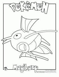 Magikarp Coloring Page