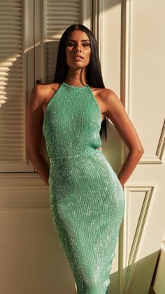 Miss Universe South Africa 2018 in very beautiful Mint Gown Dance Outfits, Dance Dresses, Sexy Dresses, Cute Outfits, Miss Universe Dresses, Miss Universe India, Mint Gown, Pageant Questions, Daily Dress