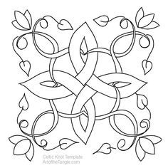 Free Freeform Celtic Knot Templates for tangling, coloring, doodling. These are samples from the Freeform Celtic Knot Design class Celtic Quilt, Celtic Symbols, Celtic Art, Celtic Dragon, Celtic Knots, Embroidery Patterns, Quilt Patterns, Zentangle Patterns, Zentangles