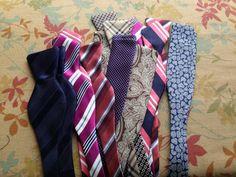 Neck Tie to Bow Tie Conversions