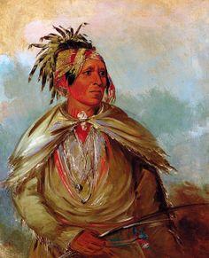 Pah-mee-ców-ee-tah, Man Who Tracks, a Chief
