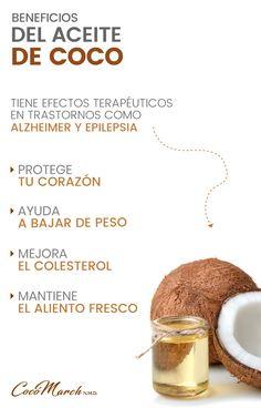 ▷ 7 Beneficios Comprobados Del Aceite De Coco | Coco March Healthy Juice Recipes, Healthy Juices, Smart Nutrition, Health And Nutrition, Benefits Of Potatoes, Fruit Benefits, Keeping Healthy, Healing Herbs, Health Remedies