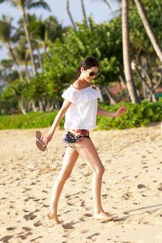 Beach look...