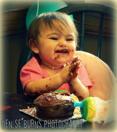 lenna's 1st birthday party