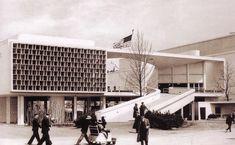 Niemeyer et Lúcio Costa Pavillion brésilien 1939 exposition universelle de New York
