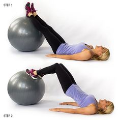 Lay on your back with your legs straight. Click more to get the rest of the workout!