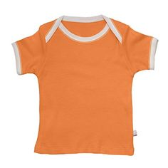 Babysoy Comfy Essential Tee 0612 months Tangerine * More info could be found at the image url.