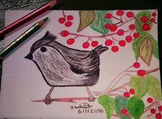 GALERIA DE PINTURAS: Pássaros, Galo e Borboleta...